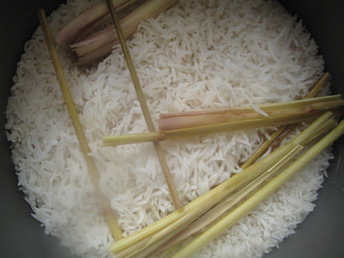 Lemongrass scented rice