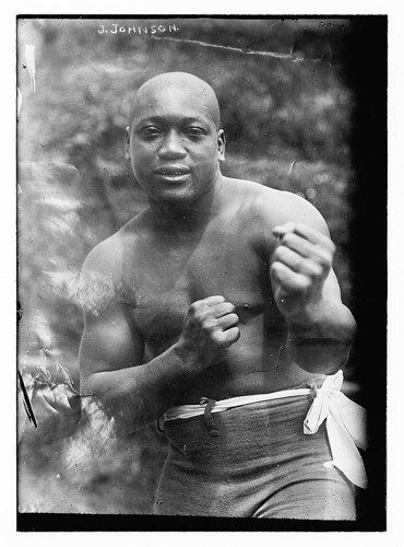 Jack Johnson, 1909 by John McNab.