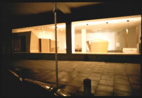 Ausstellungsraum Junghofstrasse Außenansicht. 1999