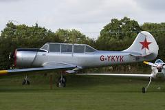 G-YKYK - 9812106 - Private - Aerostar Yak-52 - Little Gransden - 090830 - Steven Gray - IMG_0638