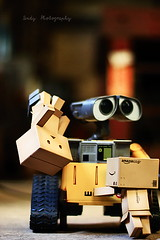 Help me...T^T (sⓘndy°) Tags: canon toy toys box explore sindy danbo danboard 紙箱人 阿楞 amazoncomjp