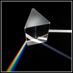 Glass Prism Rainbow 1 by iWanderse