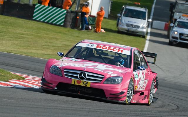 DTM T V Spielfilm AMG Mercedes (S Stoddart)