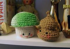 Mushy Poop (soindywaits) Tags: green smile crafts poop kawaii amigurumi supermario crotchet 1upmushroom
