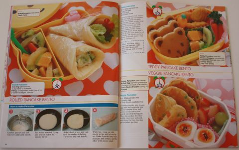 Pancake lunches (Kawaii Bento Boxes)