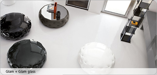 Glam Glam Glass – Modern Round-shaped Seating Furniture