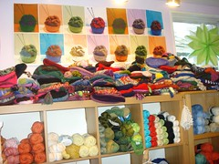 Lovely Yarns (cicicarry) Tags: charity hats yarn yarnshop lovelyyarns