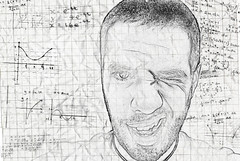 348/365 - sketchy. (B Rosen) Tags: cameraphone school portrait selfportrait me self paper sketch nikon notes geometry graph graphs math 365 calculus iphone equations d60 365days nikond60 365project showyourwork
