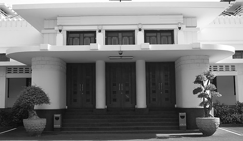Bandung Goverment Office - Entrance