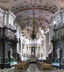 Kaunas Cathedral (SpirosK photography) Tags: panorama church stitch cathedral interior stitched lithuania kaunas