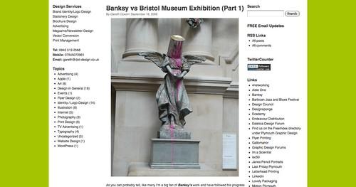 Banksy vs Bristol Museum Exhibition (Part 1) | Dot Design - Logo Design and Print Design, Plymouth, Devon_1253991313983