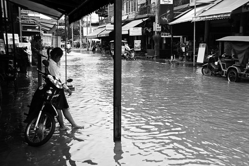 Siem Reap flooded 14