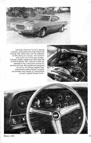 Science and Mechanics March 1972 Torino road test-2 by torinodave72.