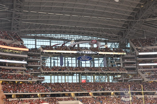 Arkansas vs Texas A&M - Cowboys Stadium - Arlington, TX - 10/3/09
