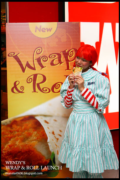 Media Launch of Wendy's Wrap & Roll