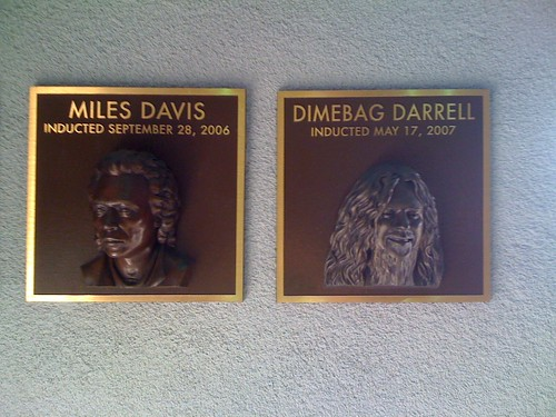 Dimebag Darrel and Miles Davis, together at last.