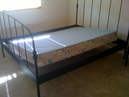 Full Bed, Queen Frame