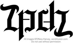 """Zach"" Ambigram"
