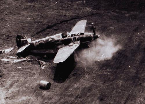 Warbird picture - Ki-61 Hien 'Tony' Fighter 78th Sentai Boram airfield New Guinea