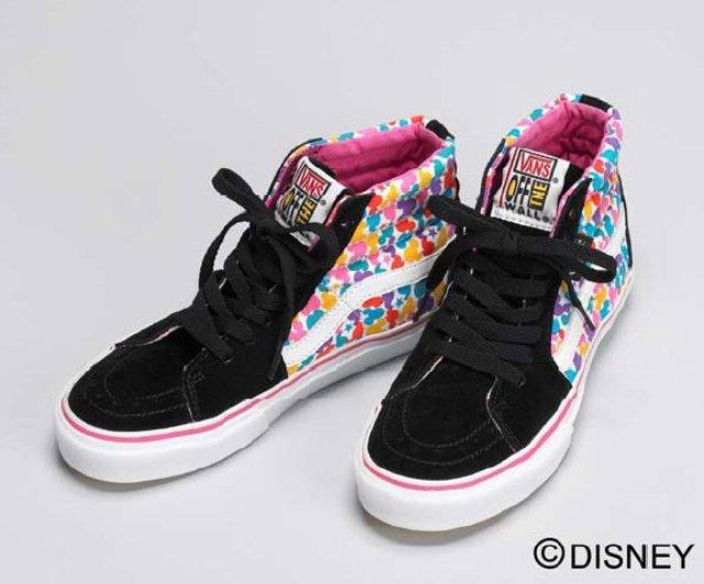 03eccf4765 Disney Store Japan x Vans Sk8 Hi