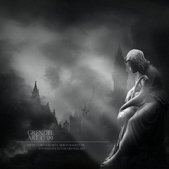 PEACEFUL (grENDel ART Joo Martins) Tags: white black castles clouds dark lights artwork rocks gothic towers statues bands metalmusic verglas bookcovers grendel marillion imago progrock metalbands progressivemusic progmetal musicbands gothicmusic gothbands dronemusic fabulae joomartins arenaband imagofabulae grendelart ambiencemusic gothicbands arenamusic