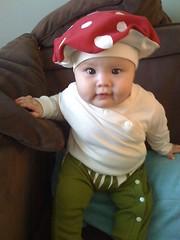 Maggie's Halloween costume