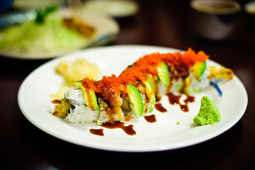 Dragon Roll by sanjoseweb.
