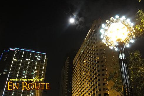 Manila at Night Baywalk Lights