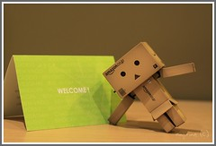 Danboard and Welcome (lovezer0) Tags: yotsuba revoltech danboard toysandcollectibles