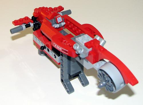 LEGO 8060 Atlantis - Typhoon Turbo Sub - sub-assembly 3