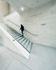 DHM Information Auditorium (96dpi) Tags: 2001 woman berlin museum architecture stairs unterdenlinden treppe architektur extension frau information auditorium dhm anbau deutscheshistorischesmuseum 14mm ieohmingpei