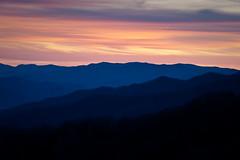 Smoky Mountain Sunset (Stuart Sipahigil) Tags: autumn sunset nature landscape nikon greatsmokymountainsnationalpark d700 indurotripod