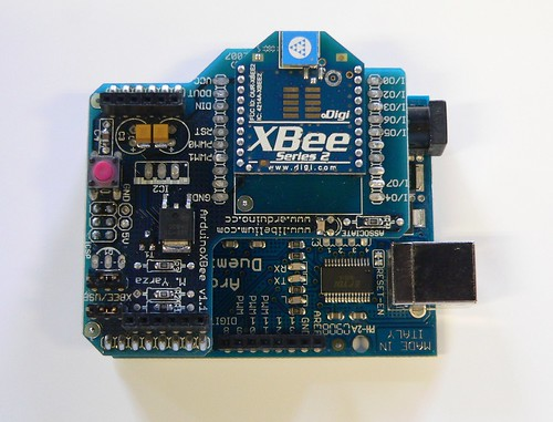 PFZ20-09781 Arduino with XBee shield