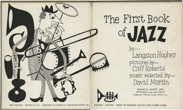 The First Book of Jazz, title page spread