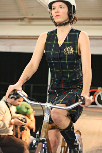skirt and bamboo bicycle