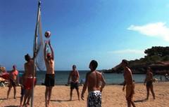 Hotel Ametlla Mar - Volleyball (Hotel Ametlla Mar) Tags: family vacation costa familia hotel mar playa piscina nios jacuzzi fin spa semana actividades tarragona platja jardn daurada canguro dorada voley vaciones aerobic escapada espectculos ametlla costadorada atmella romntico vacacin aquagym