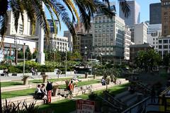 San Francisco - Union Square (growler2ndrow) Tags: sanfrancisco california usa america steps unionsquare westcoast 2009 canonef24105mmf4lisusm