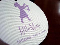 little mave - hang tags