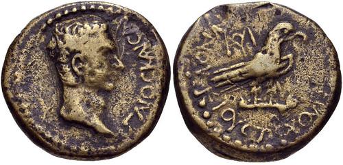 PHRYGIA, Amorium. Gaius (Caligula). AD 37-41. Æ 20mm (6.47 g).