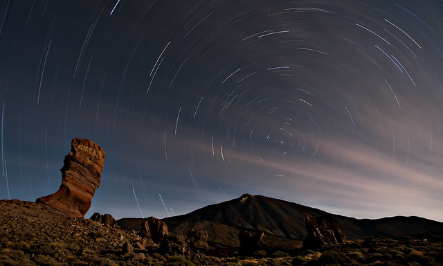 Mt. Teide under the stars