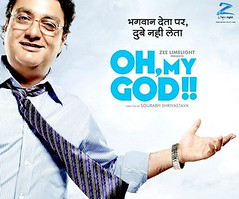 [Poster for Oh My God with Oh My God, Saurabh Shukhla, Vinay Pathak, Divya Dutta]