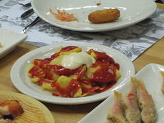 IMG_3394 (actionchrist) Tags: barcelona vacation food spain delicious tapas adri inopia poblesec