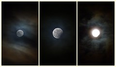 Moon & Clouds (Claude@Munich) Tags: sky cloud moon clouds germany bayern bavaria mond triptych oberbayern upperbavaria himmel wolken luna fullmoon corona nightsky lunar bluemoon lunareclipse mondfinsternis vollmond triptychon nachthimmel partiallunareclipse claudemunich lunarcorona photoscape mondhof partiellemondfinsternis teilfinsternis zweitervollmond zweivollmonde