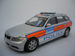 1/43 Code 3 BMW 3 Series Met Police Response Car (alan215067code3models) Tags: uk 3 london car out leaving big code ben police award parade gift present bmw series presentation passing met protection retirement response 143