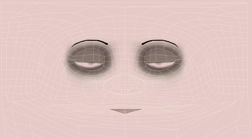 Émile Face UV Map