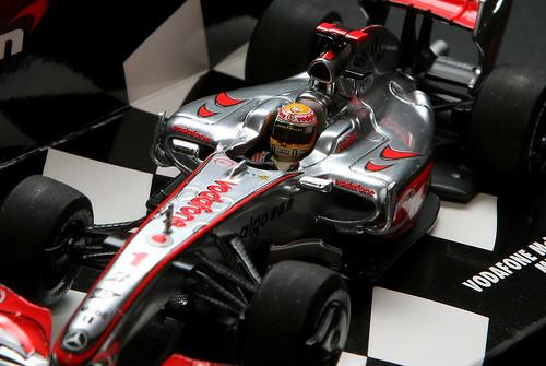 lewis hamilton car 2009. Lewis Hamilton - McLaren MP4/