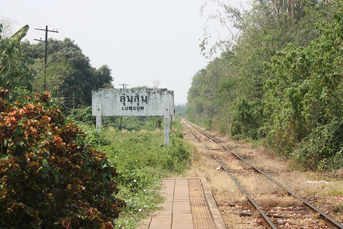 Lumsum Station on the Death Railway