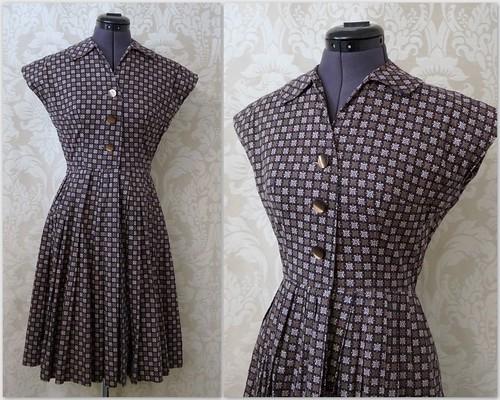 vestido vintage etsy