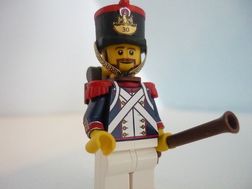 Custom minifig Soldiers of the 1812 russian invasion