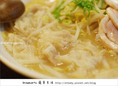 醬油叉燒餛飩拉麵/180元